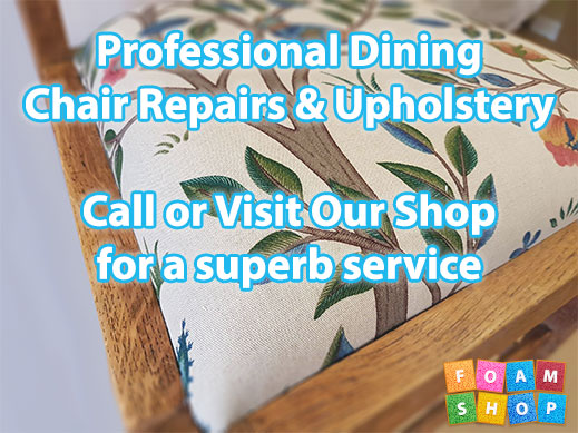 Dining Chair Upholstery Services
