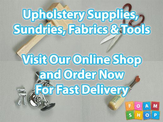 Upholstery Supplies, Tools and Sundries