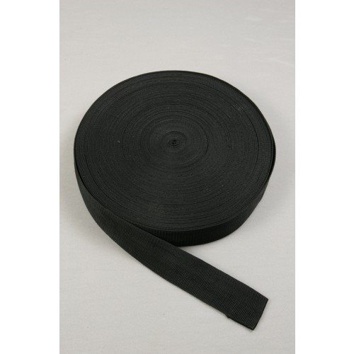 Black heavy seat belt polypropylene