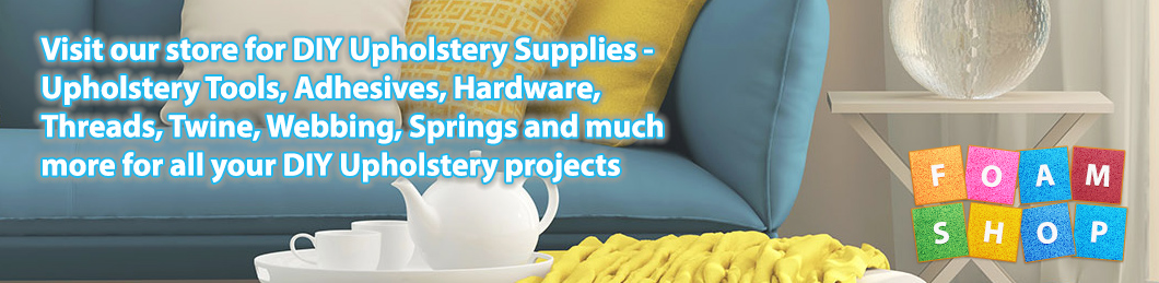 DIY Upholstery Tools and Supplies